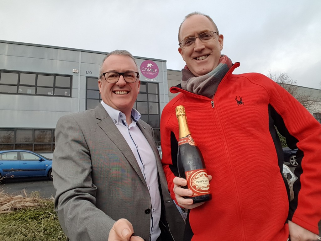 Declan Gray Evolve Champagne Moment Dec 2018